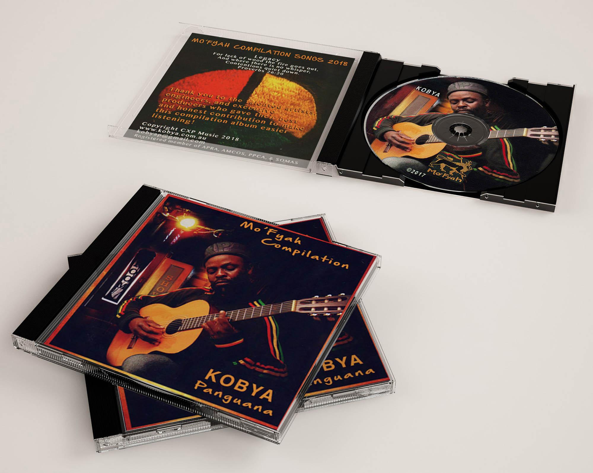 Mo'Fyah Compilation CD