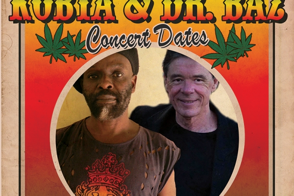 Kobya & Barry Ferrier aka Dr. Baz Concert dates