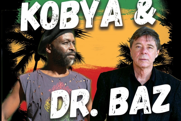 Kobya & Barry Ferrier aka Dr. Baz Music Poster